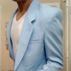 Other - 🅰️ NEW 🎰 Casino Blazer Periwinkle Blue Sportcoat